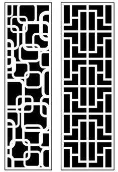 Dercor panel 62 – Download Free Vector Stair Railing Kits, Art File, Vector File, Free Design, Cnc