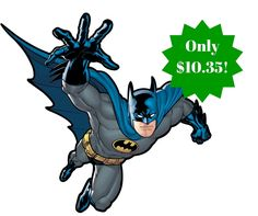 RoomMates Batman Gotham Guardian Peel and Stick Giant Wall Decal, Multicolor Wall Mural Decals, Wall Decor Stickers, Bedroom Toys, Bedroom Wall, Kids Bedroom, Bedroom Ideas, Batman Batmobile, Batman Vs, Superman