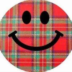 Plaid Smiley