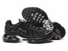 43d7aadcb6a35 Nike Officiel Nike Air Max Tn Requin Tuned 1 Chaussures Pas Cher Pour Homme  Tout Noir