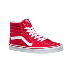 Vans Sk8-Hi Top Sneaker ( 60) ❤ liked on Polyvore featuring shoes 95dcbe8a7