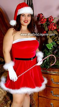 Plus size sexy christmas costumes