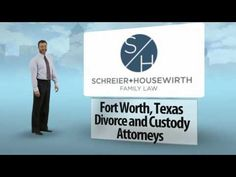 At http://www.lawtolife.com Schreier & Housewirth Family Law, husband and wife attorneys, Greg Schreier and Holly Housewirth have been practicing family law for twenty-five years.  They are divorce and custody lawyers in Ft. Worth, Texas.  Both attorneys started out at large, corporate law firms in Dallas, Texas.  They both worked in the Dallas County District Attorney's Office prosecuting Child Protective Service cases where they found that their greatest reward was in presenting custody…
