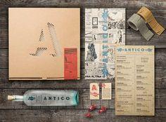 Antico PizzaNapoletana - TheDieline.com - Package Design Blog