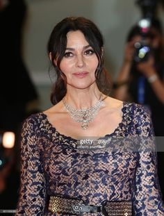 Monica Bellucci attends the premiere of 'On The Milky Road' during the 73rd Venice Film Festival a Sala Grande on September 9, 2016 in Venice, Italy.