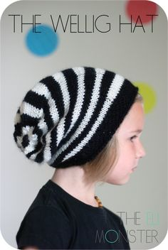The Wellig Hat PDF Knitting Pattern - pinned by pin4etsy.com