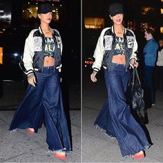 plz don't bring bell bottoms back, rih.