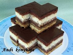 Hungarian Recipes, Hungarian Food, Best Food Ever, Nutella, Tiramisu, Good Food, Food And Drink, Sweets, Candy