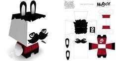 Pepetz Moustache de ADMSXT | Paper-Toy.fr