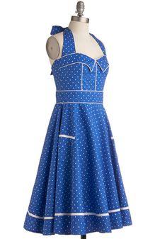 Blueberry Buckle Dress | Mod Retro Vintage Dresses | ModCloth.com