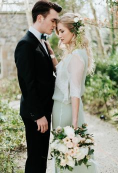 Elegant couple portrait | Art Wedding Photography