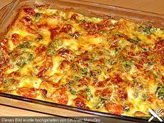 Tomaten - Spinat - Lasagne (Rezept mit Bild) von bellagiora | Chefkoch.de