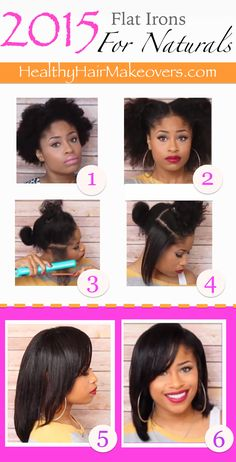 2 Mind-Blowingly Amazing Flat Irons For Natural Hair. The flat iron featured in pic Pelo Natural, Natural Hair Tips, Natural Hair Journey, Natural Hair Styles, Corte Y Color, Black Hair Care, Relaxed Hair, Afro Hairstyles, Along The Way