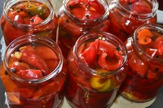 Conservation, Preserves, Celery, Pickles, Cookie Recipes, Easy Meals, Food And Drink, Stuffed Peppers, Homemade