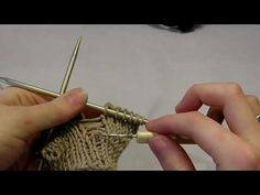 Quick Knitting Tip: Pick Up a Dropped Stitch by Becky Stern on Craftzine