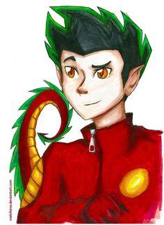 American Dragon anime | American Dragon Jake Long by ~melofarce on deviantART