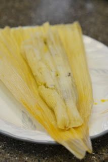 The World in My Kitchen: Green Chile Chicken Tamales