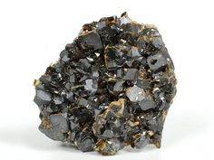 Sphalerite Crystal With Galena Cubes From Bulgaria Raw Rough