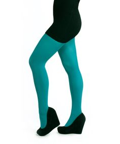 CETIP2006    Opaque Tights: Emerald Green    http://www.cestmoiclothing.com/tights.aspx