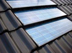 Dakpan zonnepanelen Solar Energy For Home, Solar Energy Projects, Interior Architecture, Interior Design, Solar Roof, Solar Power System, Energy Efficiency, Renewable Energy, Solar Panels