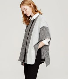 Poncho sweater: http://www.stylemepretty.com/living/2015/09/26/spotted-on-saturday-editors-sweaterweather-picks/
