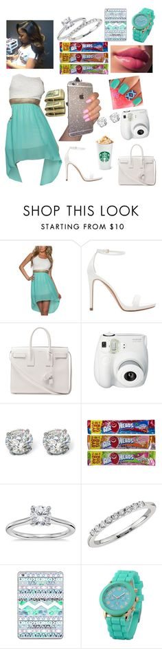 """""""#366"""" by aneysajslexander ❤ liked on Polyvore featuring Zara, Yves Saint Laurent, Palm Beach Jewelry, Blue Nile, Casetify and Zodaca"""