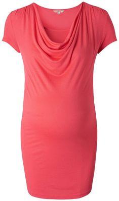 NOPPIES Still-Shirt »Carmen« für 39,99€. Stillshirt Carmen von Noppies, Wasserfallausschnitt und integriertes Top bei OTTO