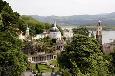 detail img  Portmeirion Wales   Thank goodness for all the eccentrics with the cash to give us places like this...crazy wonderful stuff.