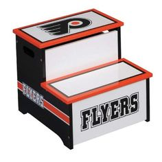 National Hockey LeagueTM Philadelphia Flyers Storage Step-Up $29.98 (67% OFF)