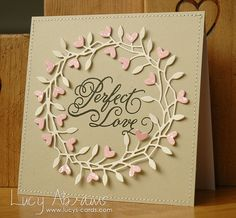 Perfect Love - Lucys Cards