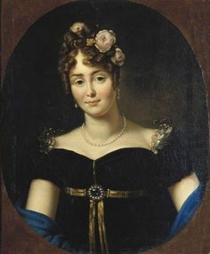 1812 Marie Walewska by François Gerard (Muzeum Pałacu Króla Jana III w Wilanowie - Warsawa, Poland) From pinterest.com:melissamba:regency-portraits: filled in shadows deflaw