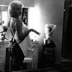 Marilyn black & white