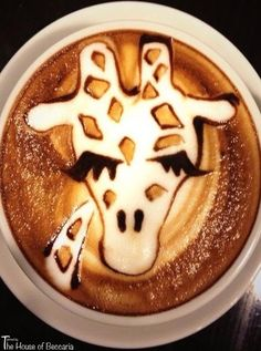 ~Giraffe Latte | The House of Beccaria