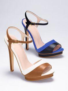 Contrast-strap Sandal $29,99