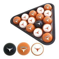 Texas Longhorns Billiard Balls | CompareBig12.com