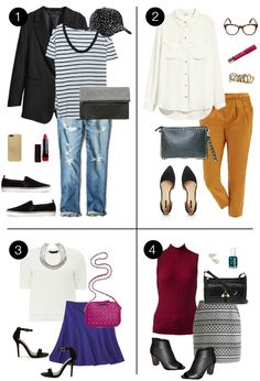 20 Under $20: 20 items, 4 outfits, priceless!  http://www.pennypincherfashion.com/