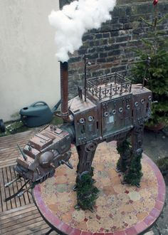 steampunktendencies:    Captain Bayley's Infernal Mechano-Perambulator
