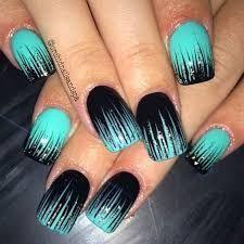 Image result for teal nails