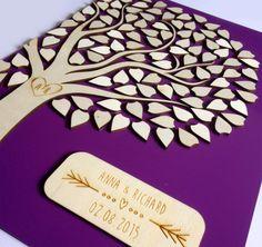 Alternative wedding Guest book tree - personalized guestbook - guestbook idea - tree guest book wood - tree guestbook - Wedding guestbook - by Cut4you on Etsy https://www.etsy.com/listing/237804159/alternative-wedding-guest-book-tree