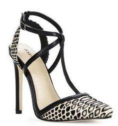 Faux Snake Skin T-strap heels AS0031 sz 8, 11