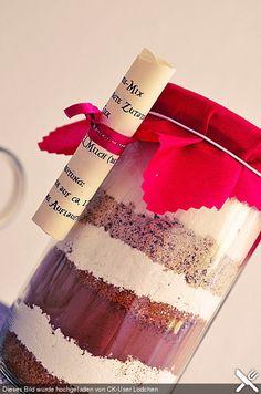 Brownie-Backmischung als Geschenk