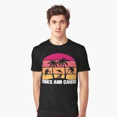 Promote | Redbubble Turks And Caicos Vacation, Vacation Shirts, Tee Shirts, Tees, Travel Gifts, Holiday Travel, Travelling, Sailing, Mens Tops