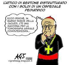 Scandalo sul superattico di Bertone?