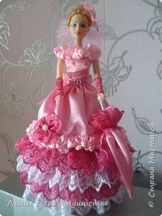 Поделка изделие Моделирование конструирование куклы-шкатулки Бусины Клей Кружево Сутаж тесьма шнур Ткань фото 3