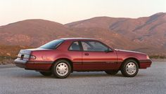 1987 Ford Thunderbird Turbo Coupe. I had one just like this. Leather interior. Sunroof. A great ride.