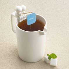 I might always drink tea if it was this cute!