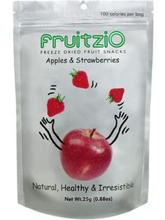 Fruitzio Apples and Strawberries