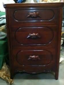 Details About Lillian Russell Post 1950 Cherry Wood Bedroom Furniture