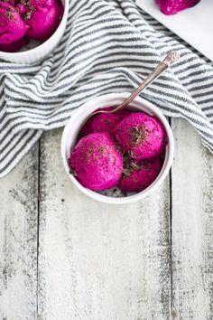 Honey and Beet Frozen Yogurt: My Diary of Us
