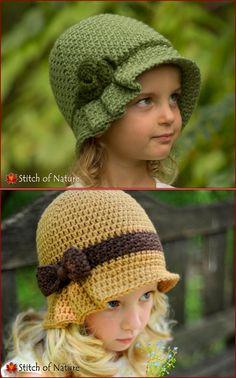 Crochet Kids Hats, Crochet Beanie, Diy Crochet, Knitted Hats, Crochet Stitches, Crochet Patterns, Sombrero A Crochet, Beanie Pattern, Girl With Hat